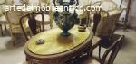 antichità, oro, salone, poltrone divano, specchiere