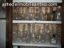 collezione 60 bottiglie vintage '900
