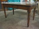tavolo abete con cassetto